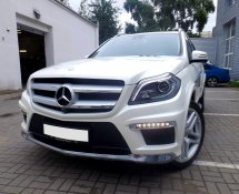 Mercedes GL400 (White)