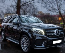 Mercedes GLS 400 (black)