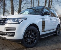 Range-Rover Vogue SE (White)