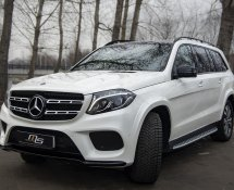 Mercedes-Benz GLS 400 4MATIC (White)